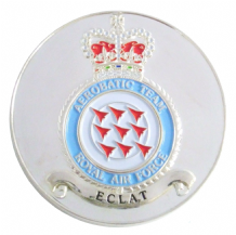 Official RAF Red Arrows 50 Seasons Commemorative Badge Coin Medal in Sleeve